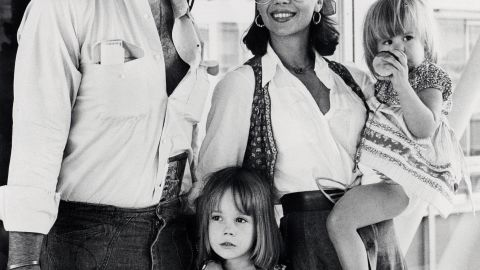 Wood had her daughter Courtney, right, with Wagner and her daughter Natasha, center, with her second husband, Richard Gregson.