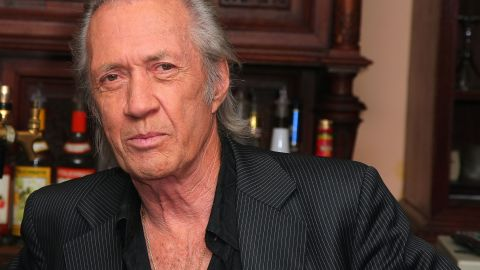 """The body of """"Kill Bill"""" actor David Carradine was found hanged in a Bangkok hotel room closet on June 4, 2009. He died at the age of 72. At first, officials ruled his death a suicide. They later said he died from accidental  asphyxiation."""