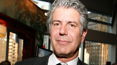 """Anthony Bourdain: """"We're always looking for unspoiled, authentic (restaurants). And then we put them on TV and ruin them."""""""
