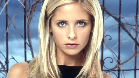 "Sarah Michelle Gellar starred in ""Buffy the Vampire Slayer."""