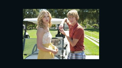 "Emily VanCamp and Gabriel Mann star in ABC's ""Revenge."""