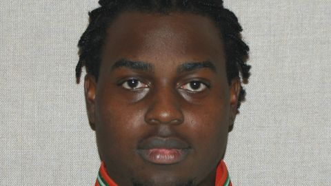"""Florida A&M University student Robert Champion, 26, who, an autopsy found, """"died within an hour of a hazing incident."""""""