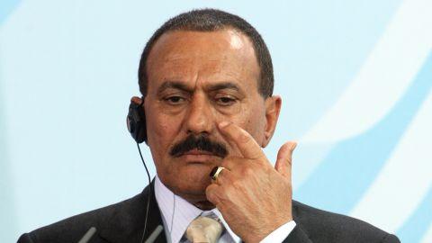 "President  Ali Abdullah Saleh said the transfer of power should be ""peaceful and democratic."""