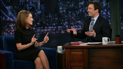 """Jimmy Fallon had apologized on Twitter after Michelle Bachmann appeared on his """"Late Night with Jimmy Fallon"""" show."""
