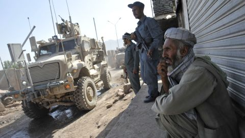 Moving the vast quantities of U.S. military hardware and supplies needed into and around Afghanistan can be problematic.