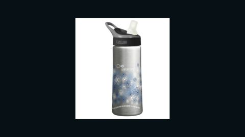 If you're interested in getting a gift that you can wrap and put under the tree, $10 from each CamelBak Groove water bottle, complete with a filter built into its straw, benefits Water.org. The nonprofit organization, founded by actor Matt Damon and social entrepreneur Gary White, helps provide global access to clean water.