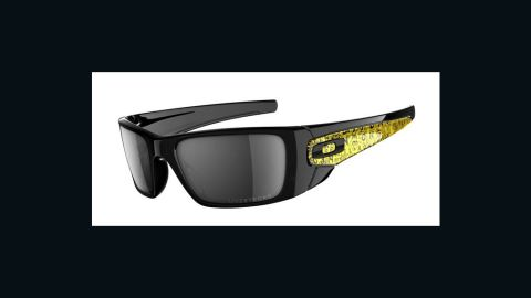 """These special-edition <a href=""""http://www.oakley.com/products/6528?promotion_id=6&cm_mmc=google-semsearch-_-Brand-Products-Men-Sunglasses-_-Fuel-Cell-Livestrong-_-oakley%20livestrong%20fuel%20cell%20sunglasses"""" target=""""_blank"""" target=""""_blank"""">Oakley sunglasses </a>not only block all UVA, UVB and UVC rays, $20 from each purchase goes to the Lance Armstrong Foundation, a nonprofit organization that supports those affected by cancer."""