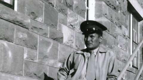 Chester Nez was a Code Talker, a Marine during World War II who shared information in Navajo language.