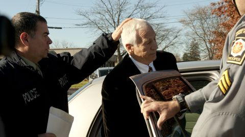 """Former Penn State football coach Jerry Sandusky said that children at his charity were like an """"extended family."""""""