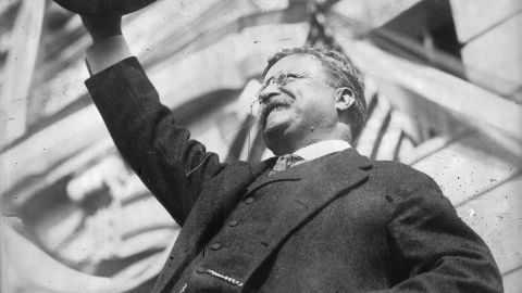 President Theodore Roosevelt, shown in 1912.