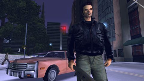 """The new """"Grand Theft Auto III"""" for Android looks similar to the iPhone version."""