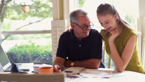 Older generations warn against spending money you don't have.