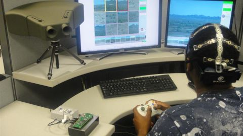 The Cognitive Technology Threat Warning System program is developing binoculars that can identify threats from a long distance and then inform a soldier of the danger.