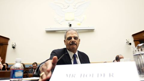 """U.S. Attorney General Eric Holder has faced congressional questioning on the """"Fast and Furious"""" program."""