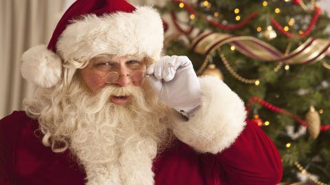 Santa Claus 'should be ashamed' of himself, a parent said (file picture).