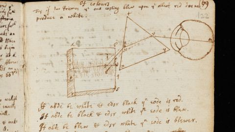 """Grant Young, of Cambridge University Library, said the archive contained """"perhaps some of the most papers and documents in the history of science."""""""
