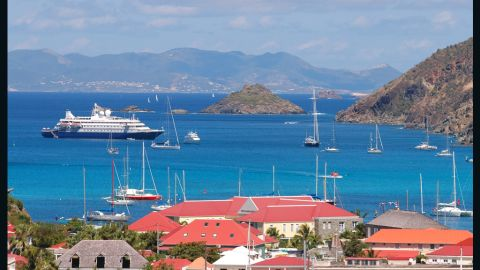 """The St. Barths Bucket """"let the people of St. Barths know that we had confidence in them and were willing to put on the event regardless of where the recovery stood or how many yachts entered,"""" event manager, Peter S Craig told CNN.<br />"""