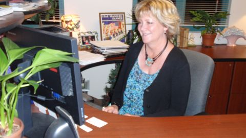 Joan Putnam is the Director of The Joan and Art Barron Veterans Center at San Diego State University