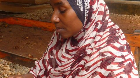 Rukia Shabiby suffered an obstetric fistula while giving birth at age 13.