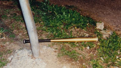 Campbell used this baseball bat to strike Richard DiGuglielmo Sr.