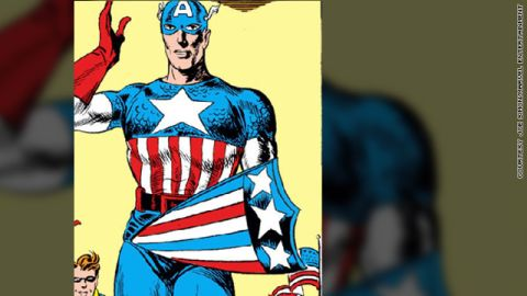 Captain America started during the World War II era and has gained new popularity through a 2011 action movie.