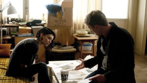 """Rooney Mara and Daniel Craig star in """"The Girl With the Dragon Tattoo."""""""