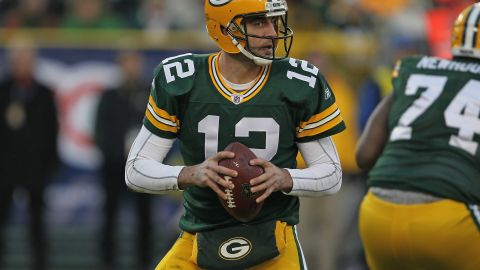 Quarterback Aaron Rodgers leads the Green Bay Packers, considered a favorite to reach the Super Bowl.