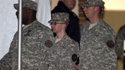 Pfc. Bradley Manning faces 22 charges after being accused of distributing hundreds of thousands of secret government documents to WikiLeaks.