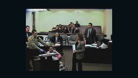 Miriam Mendiola-Martinez alleges she was shackled while in labor in the custody of Arizona's Maricopa County Sheriff's Office.