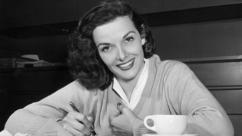 """Jane Russell, a voluptuous star of the 1940s and 1950s, died February 28 of respiratory difficulties. She was 89. Russell was best known for her role in """"Gentlemen Prefer Blondes"""" alongside Marilyn Monroe. <a href=""""http://articles.cnn.com/2011-02-28/entertainment/russell.obit_1_silver-screen-film-appearance?_s=PM:SHOWBIZ"""">Full story</a>"""