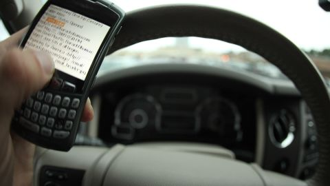 """The """"It Can Wait"""" campaign emphasizes the dangers of texting while behind the wheel."""