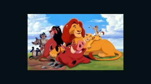 """""""The Lion King"""" was re-released in 3-D after originally bowing in theaters in 1994."""