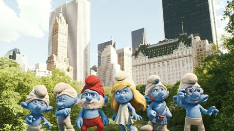 """Popular '80s show """"The Smurfs"""" was adapted into a summer blockbuster this year."""