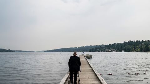 Williams recalls time spent on this fishing pier with his daughter as among the best days of his life. - (Stuart Isett for CNN)