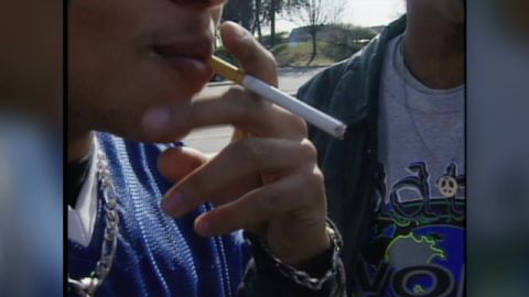 Studies show that the vast majority of smokers begin smoking as young adults.