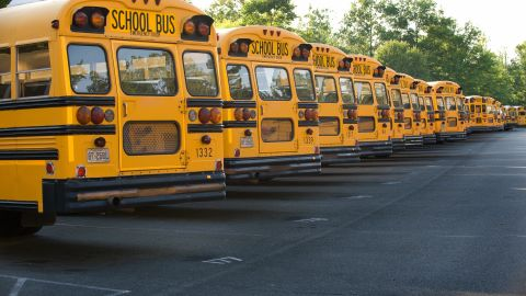 Harmful exhaust fumes can enter school buildings from buses and cars sitting outside schools with their engines idling. Fumes can enter through school doors and windows or via the building's air intakes.