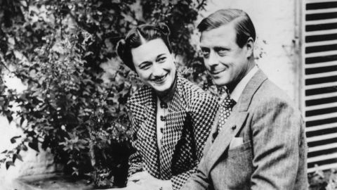 The Duke and Duchess of Windsor, formerly King Edward VIII and Wallis Simpson, pictured in September  1939.