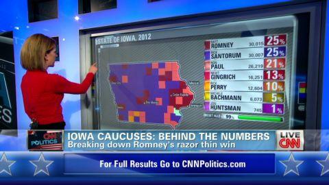 point romans iowa caucus numbers_00000711