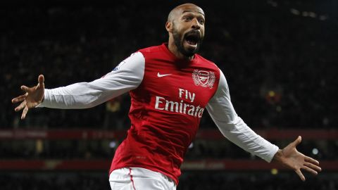 French striker Thierry Henry was one of the many players from the Île-de-France region that turned professional. The former Arsenal and Barcelona forward was born in the Paris suburb of Les Ulis, Essonne.