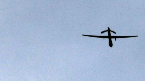 Five U.S. drone strikes killed six suspected al Qaeda militants in the southeastern Yemeni province of Shabwa on Monday.
