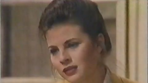 """One of Yasmine Bleeth's earliest roles was playing LeeAnn Buchanan from 1991 to 1993. Soon after, she was saving lives in a red swimsuit as Caroline Holden in """"Baywatch,"""" a role that earned her a spot in People magazine's """"50 Most Beautiful People"""" in 1995."""