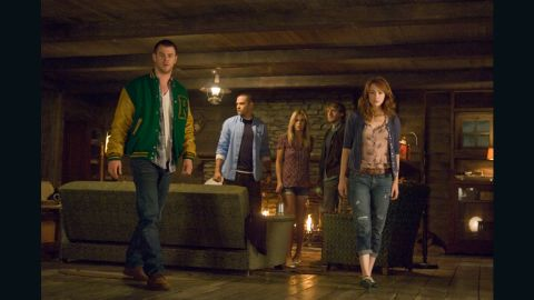 """A  """"Cabin in the Woods"""" offers a new twist on the old genre of horror films."""