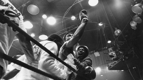 """Ali first became a world champion in 1964, when he was still known as Cassius Clay. He upset the odds to defeat reigning champion Sonny Liston, a result which prompted him to yell """"I'm the greatest"""" at gathered reporters."""