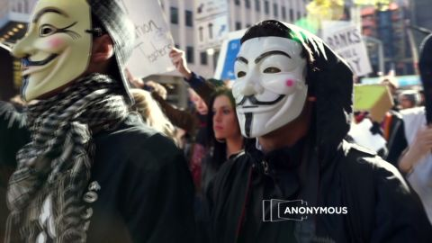 """The """"hacktivist"""" group Anonymous is taking credit for jamming several government and industry websites."""
