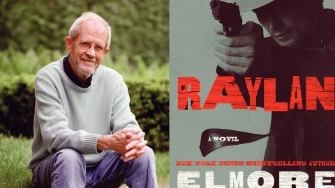 """Author Elmore Leonard returns to one of his favorite characters in """"Raylan."""""""