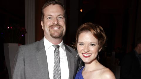 """""""She [Sarah Drew] and her husband, Peter Lanfer, are in love with him!"""" the rep says of the couple's new baby boy."""
