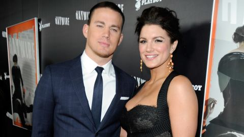 """""""I'd probably want to choke him out real quick,"""" Gina Carano said about her """"Haywire"""" co-star Channing Tatum."""
