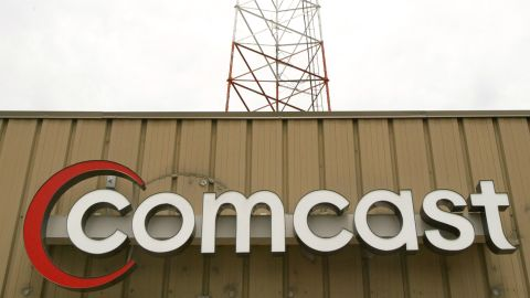 Comcast is a cable TV giant.