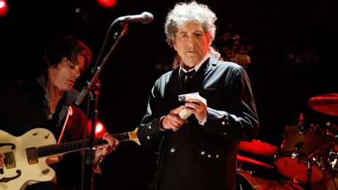 """There have been questions as to whether Bob Dylan was telling the truth when<a href=""""http://www.rollingstone.com/music/news/bob-dylan-admits-heroin-addiction-in-newly-released-1966-interview-20110523"""" target=""""_blank"""" target=""""_blank""""> he reportedly told a journalist in 1966 that he had kicked a $25-a-day heroin habit</a>, but, according to Rolling Stone, he had a period during his 1966 tour where he used """"huge amounts"""" of amphetamines."""