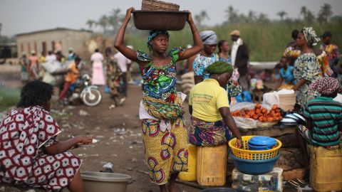 in Benin just over a quarter of public service users -- 26% -- paid a bribe in the past year.